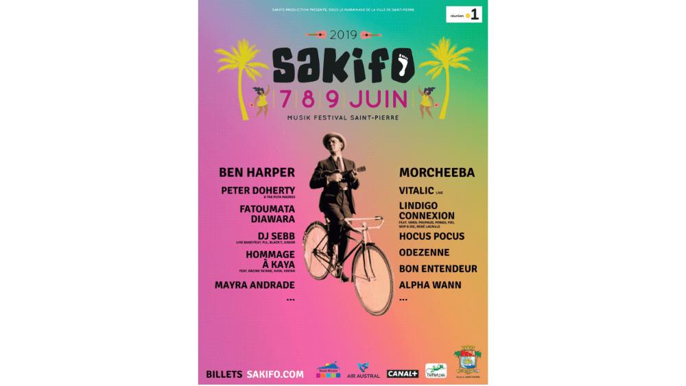 Le Sakifo du 7 au 9 juin pour vous à tarifs préférentiels !