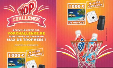 YOP challenge, invitez vos familles et amis à jouer !