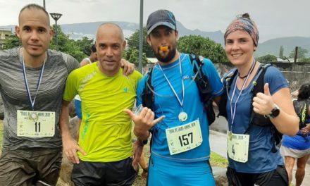 Trail de Saint-André, bravo Marie, Thierry et Alexandre !