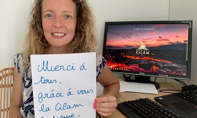 Message d'Aurélie du service Marketing