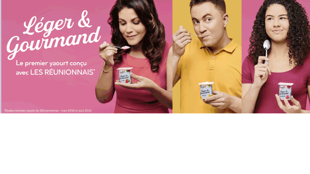 Léger & Gourmand, la campagne de communication