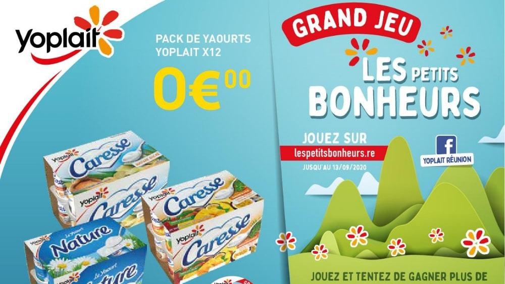 PETITS BONHEURS DE YOPLAIT, LE RETOUR : + DE 140 CADEAUX À GAGNER !